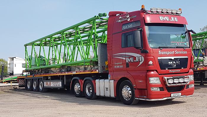 scaffold transport